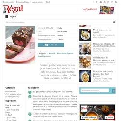 Cake surprise pour la Saint-Valentin - Régal
