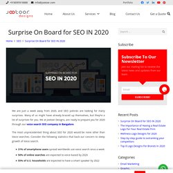 Surprise On Board for SEO IN 2020