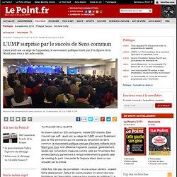 L'UMP surprise par le succès de Sens commun