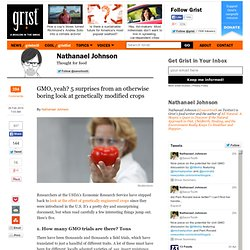 GMO, yeah? 5 surprises from an otherwise boring look at genetically modified crops
