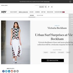 Urban Surf Surprises at Victoria Beckham
