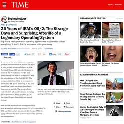 [2012] 25 Years of IBM's OS/2: The Strange Days and Surprising Afterlife of a Legendary Operating System