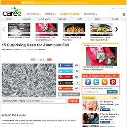 15 Surprising Uses for Aluminium Foil