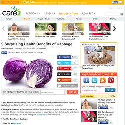9 Surprising Health Benefits of Cabbage