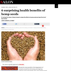 6 surprising health benefits of hemp seeds