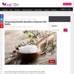 Surprising Health Benefits of Epsom Salt Baths