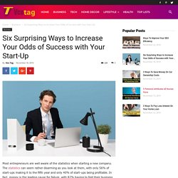 Six Surprising Ways to Increase Your Odds of Success with Your Start-Up