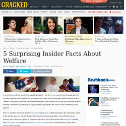 5 Surprising Insider Facts About Welfare
