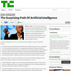 The Surprising Path Of Artificial Intelligence