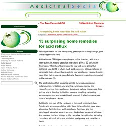 13 surprising home remedies for acid reflux
