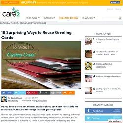 18 Surprising Ways To Reuse Greeting Cards