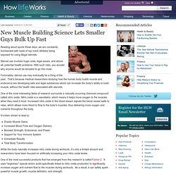 The Surprising New Tricks Pros Are Using to Build Muscle | How Life Works - StumbleUpon