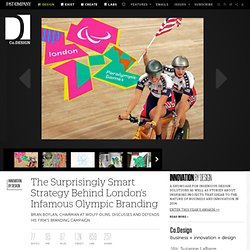 The Surprisingly Smart Strategy Behind London's Infamous Olympic Branding