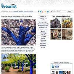 Blue Trees: Surreal Spectacle Coming to Seattle Parks