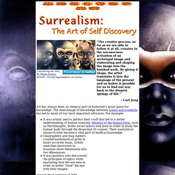 Surrealism: The Art of Self Discovery