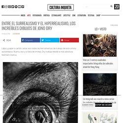 Entre el surrealismo y el hiperrealismo, los increíbles dibujos de Jono Dry