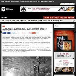 As montagens surrealistas de Thomas Barbey