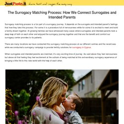 The Surrogacy Matching Process: How We Connect Surrogates and Intended Parents