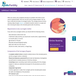 Know about Surrogacy Services in India - Apollo Fertility