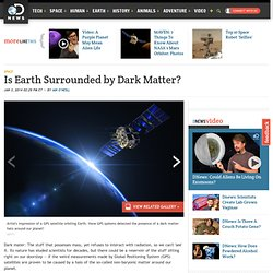 Is Earth Surrounded by Dark Matter?