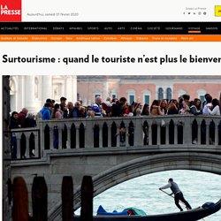 Surtourisme: quand le touriste n'est plus le bienvenu