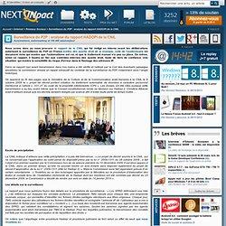 Surveillance du P2P : analyse du rapport HADOPI de la CNIL