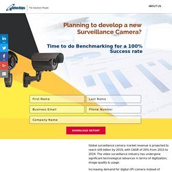 Surveillance Camera Benchmarking Report by eInfochips