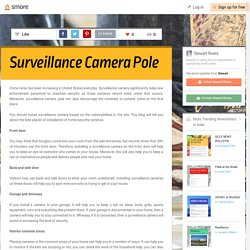 Best Places to Place Security Cameras