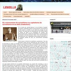 Linkzilla: Du communisme de surveillance au capitalisme de surveillance et au-delà (traduction)