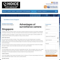 Surveillance Camera Singapore - What type should I choose?