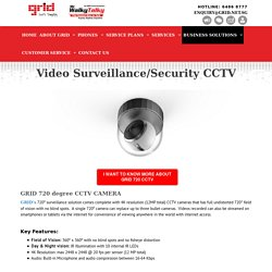 IP Cameras and Video Surveillance Systems in Singapore - GRID Communications