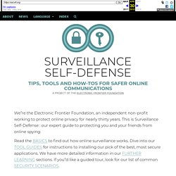Tips, Tools and How-tos for Safer Online Communications