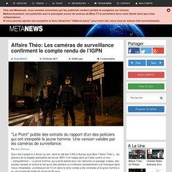 Affaire Théo: Les caméras de surveillance confirment le compte rendu de l'IGPN