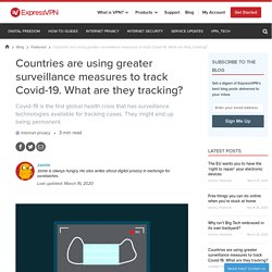 What surveillance measures are countries using to track Covid-19?