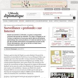 Surveillance «profonde» sur Internet, par Antoine Champagne