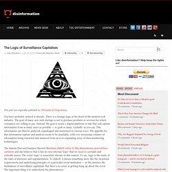 The Logic of Surveillance Capitalism
