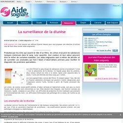 La surveillance de la diurèse - Elsevier - Masson - Dossiers - Ressources