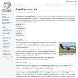 Surveillance Australia