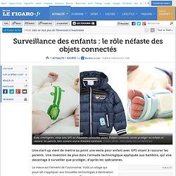 Surveillance des enfants : le rôle néfaste des objets connectés