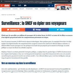 Surveillance : la SNCF va épier ses voyageurs