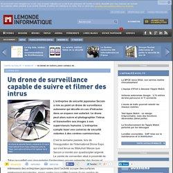 Un drone de surveillance capable de suivre et filmer des intrus