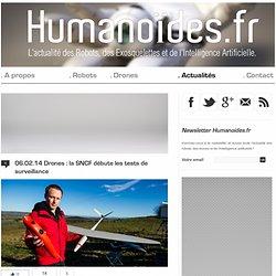 Drones : la SNCF débute les tests de surveillance