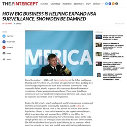 How Big Business Is Helping Expand NSA Surveillance, Snowden Be Damned