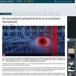 Agnesdelmotte a ajouté : On vous explique la proposition de loi sur la surveillance internationale