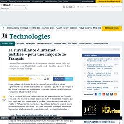 La surveillance d'Internet « justifiée » pour une majorité de Français