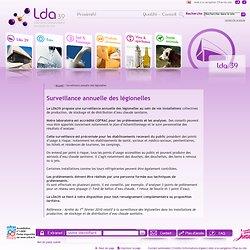 LDA39 - 2011 - Surveillance annuelle des légionelles