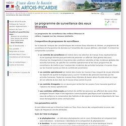 EAU ARTOIS PICARDIE - Le programme de surveillance des eaux littorales