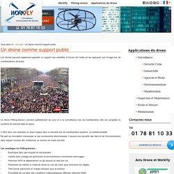 La surveillance de manifestation par les drones civils