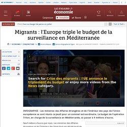Migrants : l'Europe triple le budget de la surveillance en Méditerranée