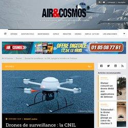 Drones de surveillance: la CNIL épingle le ministère de l'Intérieur